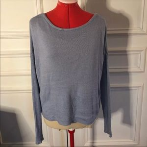 NWOT GARAGE light blue sweater